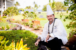 Chef Collin Thornton of Fairmont Orchid