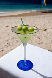 cucumber and sage martini