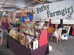 Filthy Farmgirl at Hilo Farmers Market