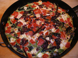 Michael Costa's Amaranth Frittata