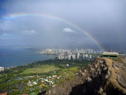 Waikiki from Diamond Head